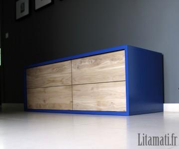 Meuble bleu concorde